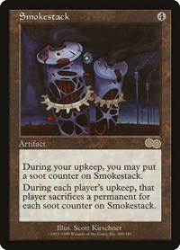 Smokestack, Magic: The Gathering, Urza's Saga