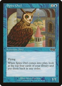 Spire Owl, Magic, Urza's Saga