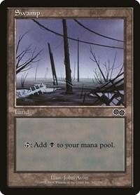 Swamp (342), Magic: The Gathering, Urza's Saga