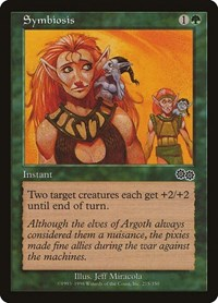 Symbiosis, Magic: The Gathering, Urza's Saga