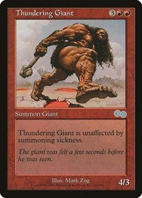 Thundering Giant, Magic, Urza's Saga