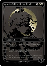 Ajani, Caller of the Pride (SDCC 2013 Exclusive), Magic: The Gathering, Media Promos