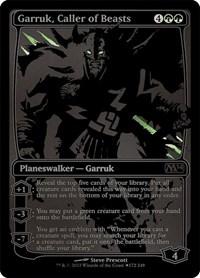 Garruk, Caller of Beasts (SDCC 2013 Exclusive), Magic: The Gathering, Media Promos