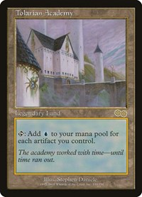 Tolarian Academy, Magic: The Gathering, Urza's Saga
