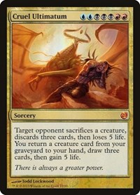 Cruel Ultimatum, Magic: The Gathering, From the Vault: Twenty