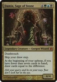 Damia, Sage of Stone (Oversized), Magic, Oversize Cards