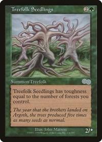 Treefolk Seedlings, Magic: The Gathering, Urza's Saga