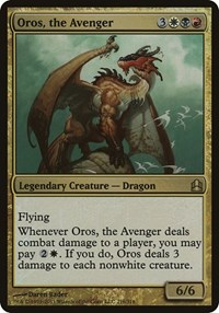 Oros, the Avenger (Oversized), Magic: The Gathering, Oversize Cards