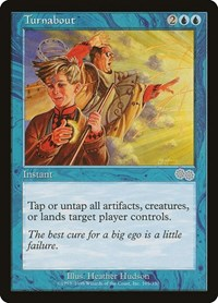 Turnabout, Magic: The Gathering, Urza's Saga
