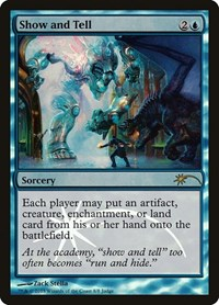 Show and Tell, Magic, Judge Promos