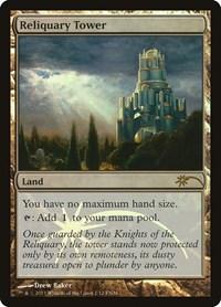 4x Magic the Gathering Reliquary Tower Foil Promo Card MtG WotC  Playset