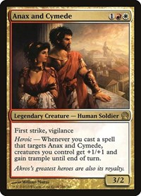 Anax and Cymede, Magic: The Gathering, Theros