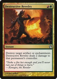 Destructive Revelry, Magic: The Gathering, Theros