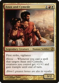 Anax and Cymede, Magic: The Gathering, Duel Decks: Heroes vs. Monsters