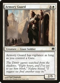 Armory Guard, Magic: The Gathering, Duel Decks: Heroes vs. Monsters