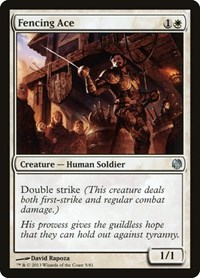Fencing Ace, Magic: The Gathering, Duel Decks: Heroes vs. Monsters