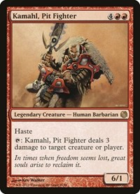 Kamahl, Pit Fighter, Magic: The Gathering, Duel Decks: Heroes vs. Monsters