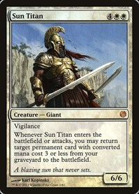 Sun Titan, Magic: The Gathering, Duel Decks: Heroes vs. Monsters