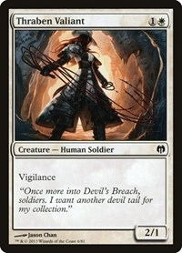 Thraben Valiant, Magic: The Gathering, Duel Decks: Heroes vs. Monsters