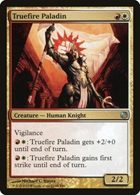 Truefire Paladin, Magic: The Gathering, Duel Decks: Heroes vs. Monsters