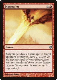 Magma Jet, Magic: The Gathering, Duel Decks: Heroes vs. Monsters