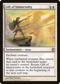 Gift of Immortality, Magic: The Gathering, Theros