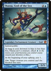 Thassa, God of the Sea (Foil)
