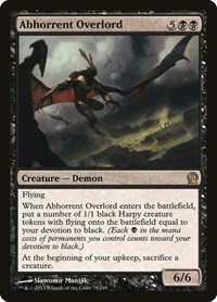 Abhorrent Overlord, Magic: The Gathering, Theros
