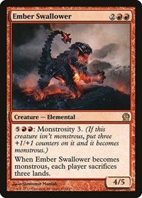 Ember Swallower, Magic: The Gathering, Theros