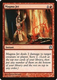 Magma Jet, Magic: The Gathering, Theros