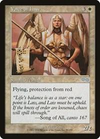 Voice of Law, Magic: The Gathering, Urza's Saga