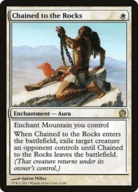 Chained to the Rocks, Magic: The Gathering, Theros