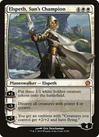 Elspeth, Sun's Champion, Magic: The Gathering, Theros