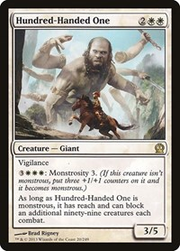 Hundred-Handed One, Magic: The Gathering, Theros