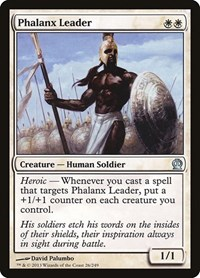 Phalanx Leader, Magic, Theros