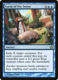 Curse of the Swine, Magic: The Gathering, Theros