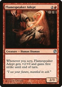Flamespeaker Adept, Magic: The Gathering, Theros