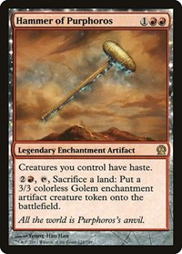 Hammer of Purphoros, Magic: The Gathering, Theros