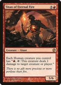 Titan of Eternal Fire, Magic: The Gathering, Theros