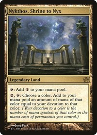 Nykthos, Shrine to Nyx, Magic, Theros