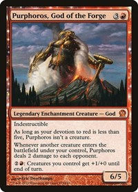 Purphoros, God of the Forge (Foil)