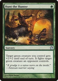 Hunt the Hunter, Magic: The Gathering, Theros