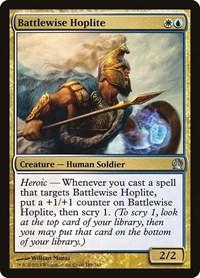 Battlewise Hoplite, Magic: The Gathering, Theros
