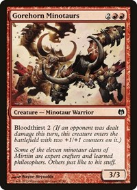 Gorehorn Minotaurs, Magic: The Gathering, Duel Decks: Heroes vs. Monsters
