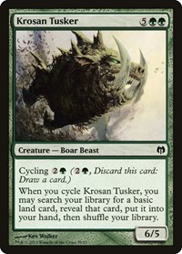 Krosan Tusker, Magic: The Gathering, Duel Decks: Heroes vs. Monsters