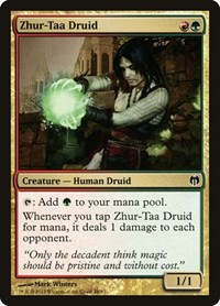 Zhur-Taa Druid, Magic: The Gathering, Duel Decks: Heroes vs. Monsters