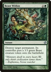 Beast Within, Magic: The Gathering, Duel Decks: Heroes vs. Monsters