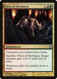 Fires of Yavimaya, Magic: The Gathering, Duel Decks: Heroes vs. Monsters