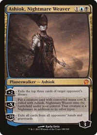 Ashiok, Nightmare Weaver, Magic: The Gathering, Theros