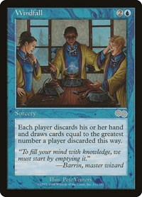 Windfall, Magic: The Gathering, Urza's Saga